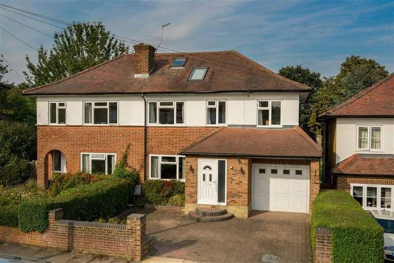 5 Bedrooms Semi Detached House for sale in Queens Crescent, St Albans, Hertfordshire