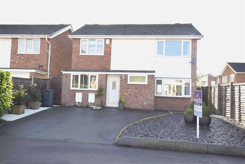 4 Bedrooms Detached House for sale in Begonia Drive, Burbage, Leicestershire