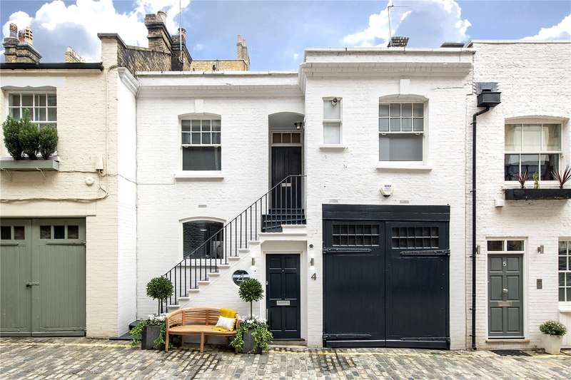 2 Bedrooms Mews House for sale in Dunstable Mews, London, W1G