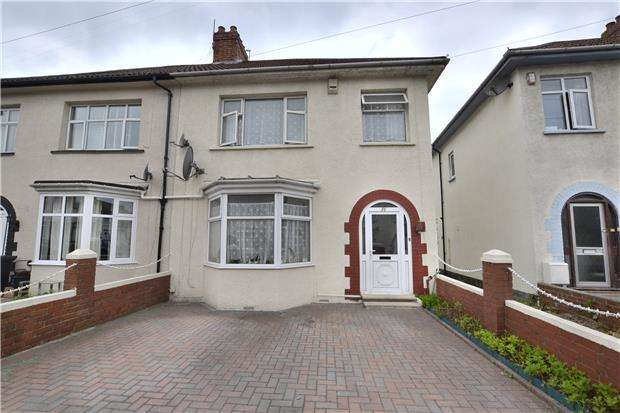3 Bedrooms Semi Detached House for sale in Cottrell Road, Eastville, Bristol, BS5 6TL