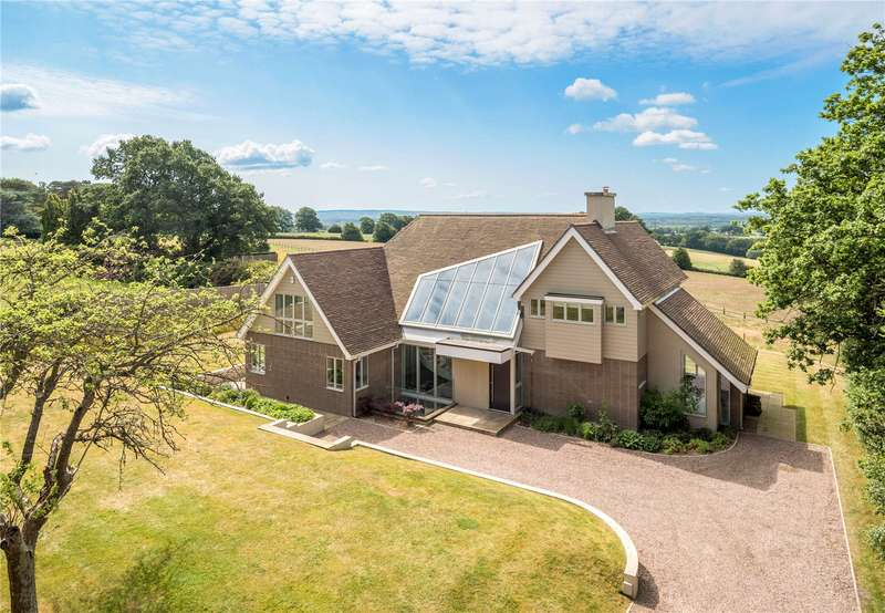 5 Bedrooms Detached House for sale in Farnham Road, Ewshot, Farnham, GU10