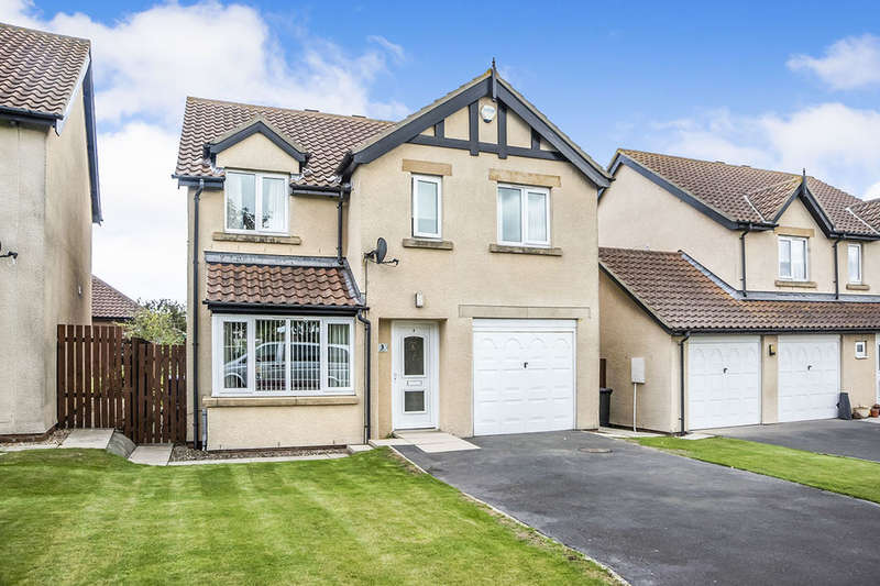 4 Bedrooms Detached House for sale in Kings Field, Seahouses, NE68