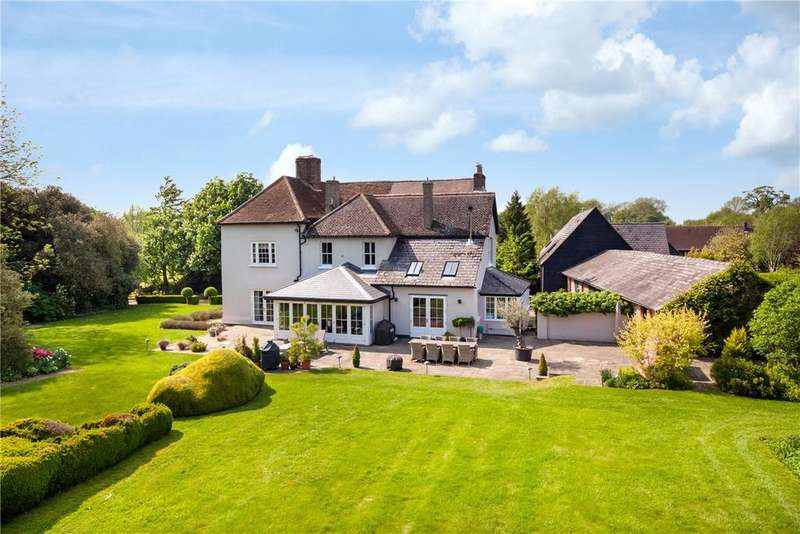 5 Bedrooms Detached House for sale in Gannock Green, Sandon, Buntingford, Hertfordshire, SG9
