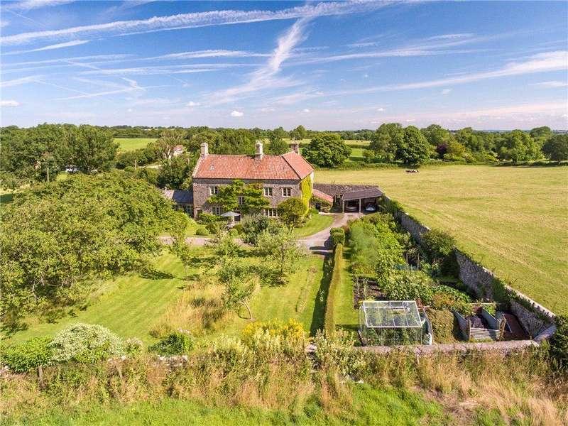 6 Bedrooms Detached House for sale in Stoke St. Michael, Near Oakhill, Bath, Somerset, BA3
