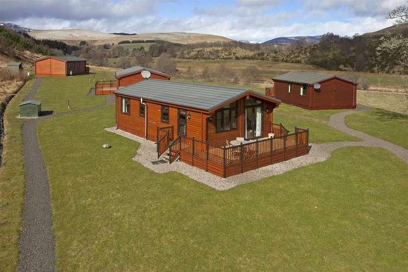 3 Bedrooms Detached Bungalow for sale in Whitehills Lodge, Glenisla
