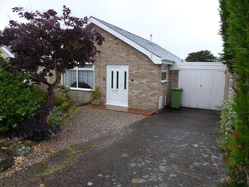 2 Bedrooms Bungalow for sale in 38 Llwyn Ynn, Talybont, LL43 2AG