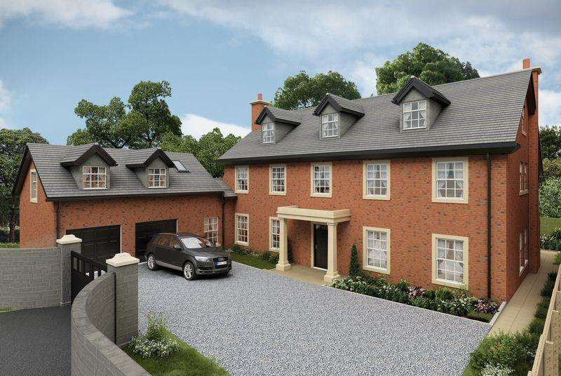 5 Bedrooms Detached House for sale in West Lane, High Legh