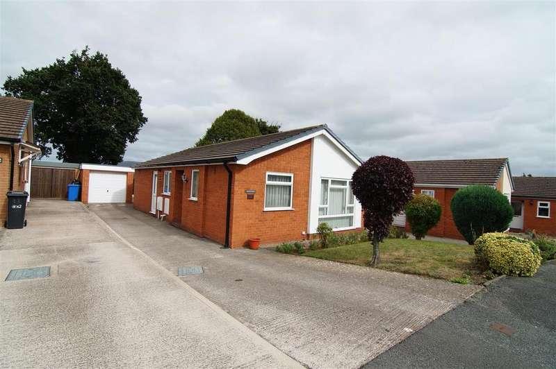 3 Bedrooms Detached Bungalow for sale in Llys Alafowlia, Denbigh