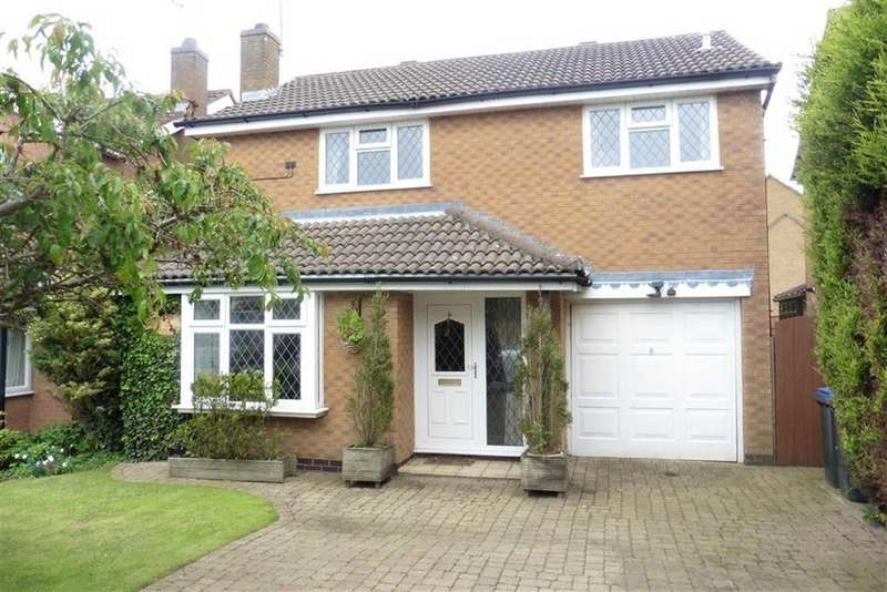 4 Bedrooms Detached House for sale in Cornwall Way, Hinckley