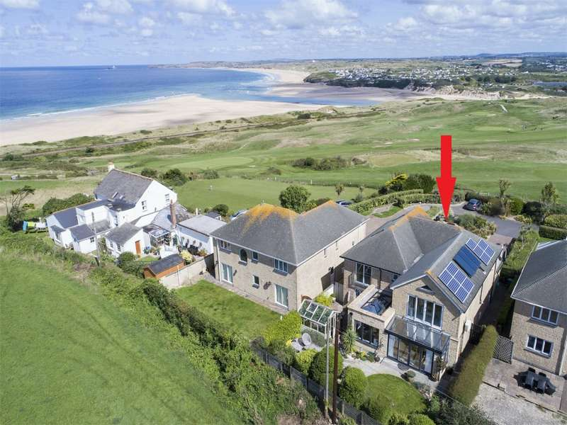 4 Bedrooms Detached House for sale in Church Lane, Lelant, ST IVES, Cornwall