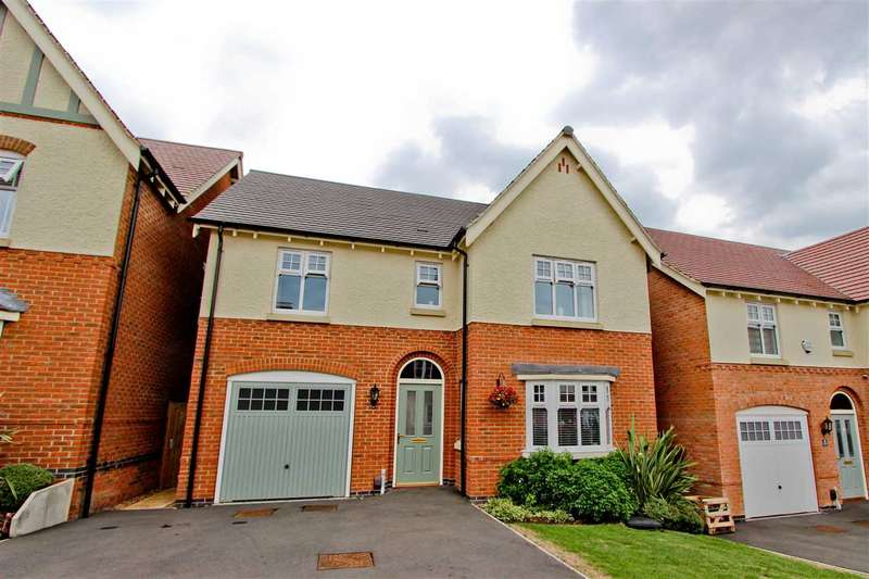 4 Bedrooms Detached House for sale in Bosworth Way, Anstey, Leicester