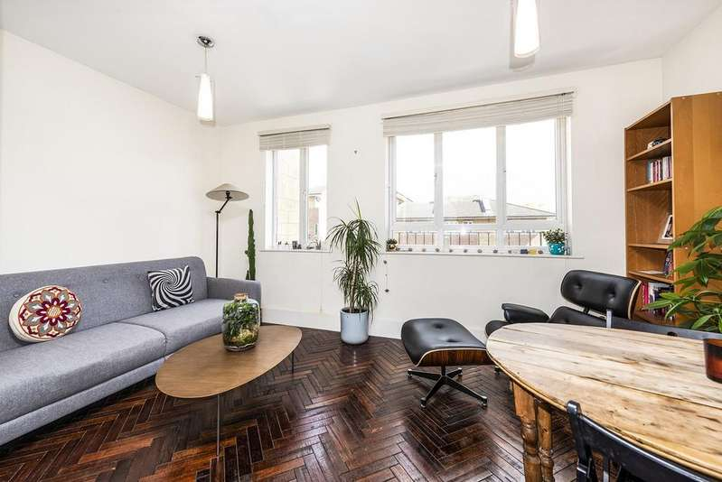 2 Bedrooms Apartment Flat for sale in Wyndams Court, Celandine Drive, London E8