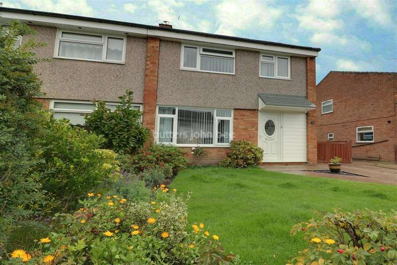 3 Bedrooms Semi Detached House for sale in Needham Drive, Hartford