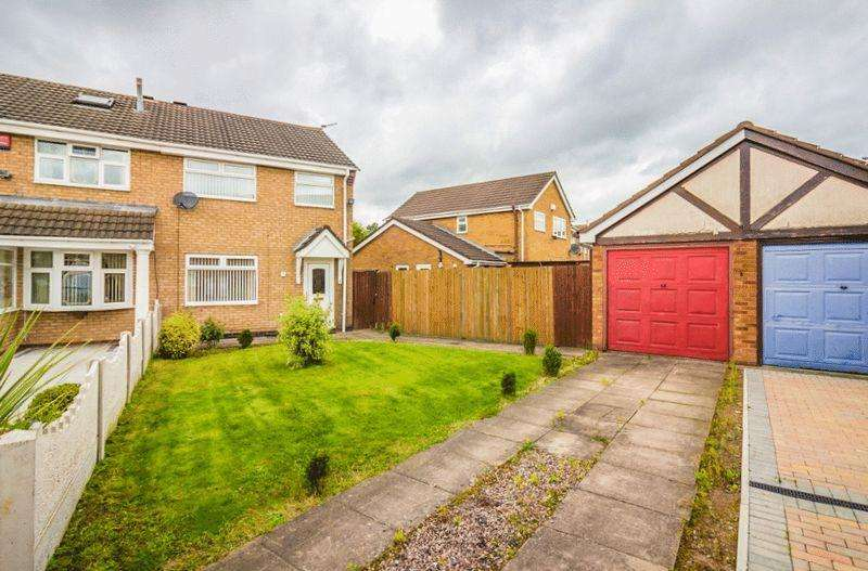 3 Bedrooms Semi Detached House for sale in Welland Grove, Willenhall