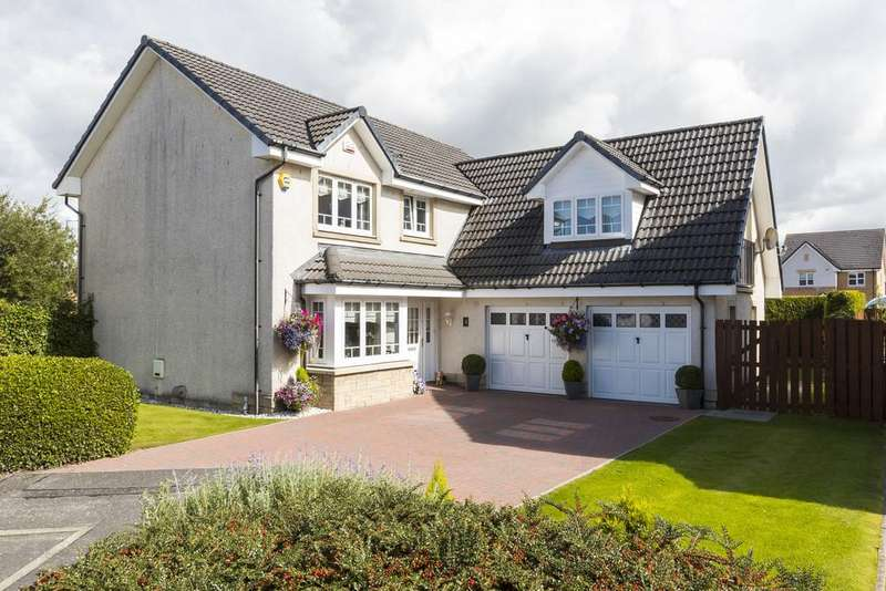 4 Bedrooms Detached House for sale in Honeywell Place, Stepps