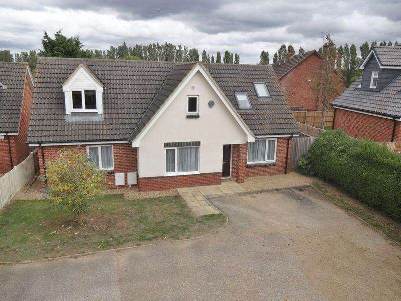 4 Bedrooms Detached Bungalow for sale in Stoke Road, Bletchley