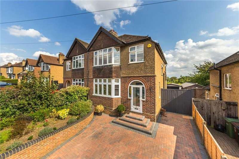 3 Bedrooms Semi Detached House for sale in Piggottshill Lane, Harpenden, Hertfordshire
