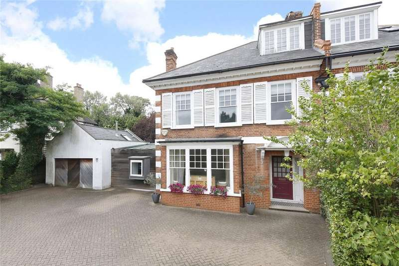 5 Bedrooms Semi Detached House for sale in Alleyn Park, London, SE21