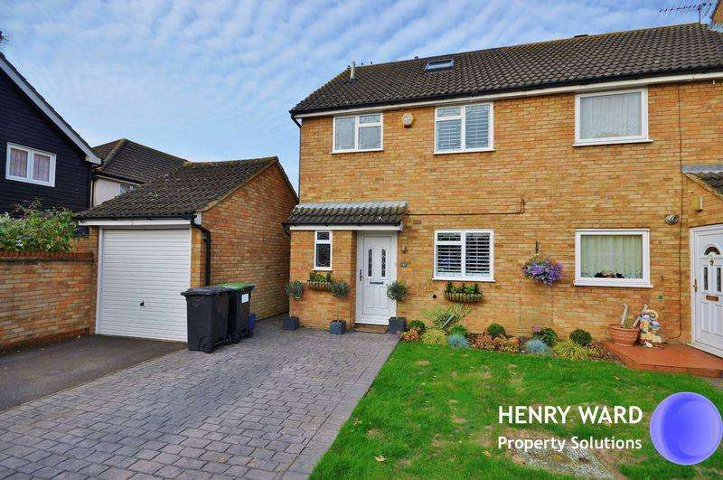 4 Bedrooms Semi Detached House for sale in Milton Street, Waltham Abbey