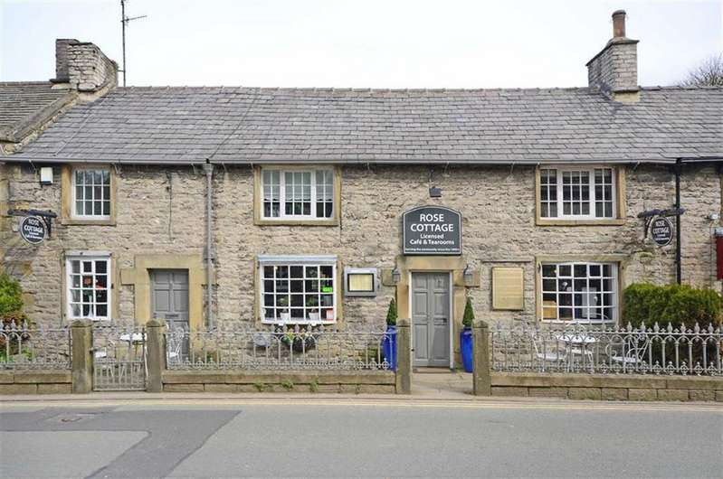 2 Bedrooms Unique Property for sale in Rose Cottage Tea Rooms, Cross Street, Castleton, Hope Valley, S33