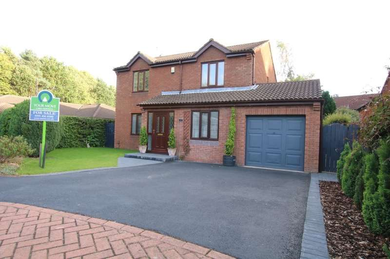 4 Bedrooms Detached House for sale in Dalmahoy, Washington, NE37
