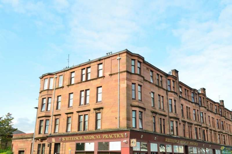 2 Bedrooms Flat for sale in Edzell Street, Flat 2/1, Whiteinch, Glasgow, G14 0TW