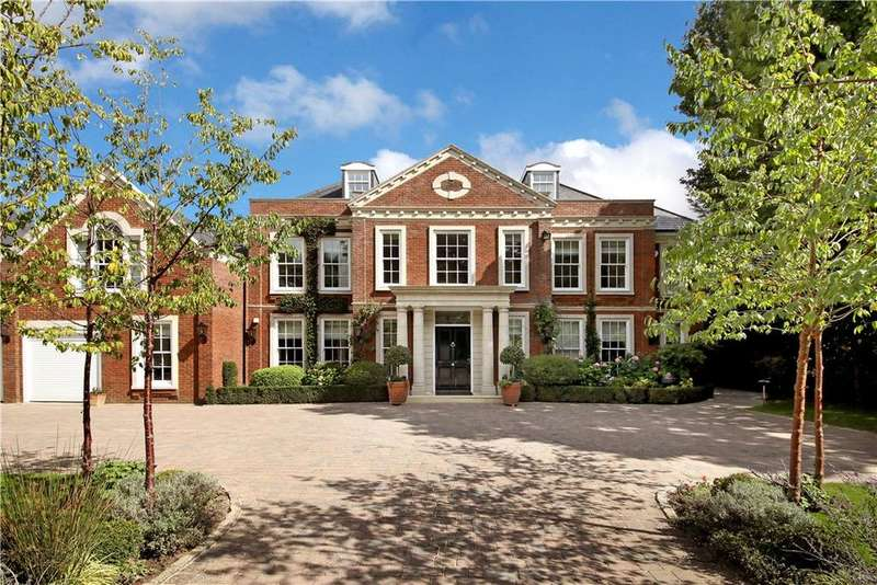 7 Bedrooms Detached House for sale in The Quillot, Burwood Park, Walton-on-Thames, Surrey, KT12