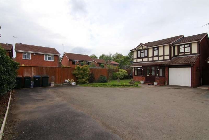 4 Bedrooms Detached House for sale in Portwrinkle Avenue, Coventry