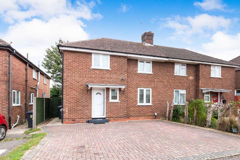 4 Bedrooms Semi Detached House for sale in Sandys Road, Basingstoke, RG22