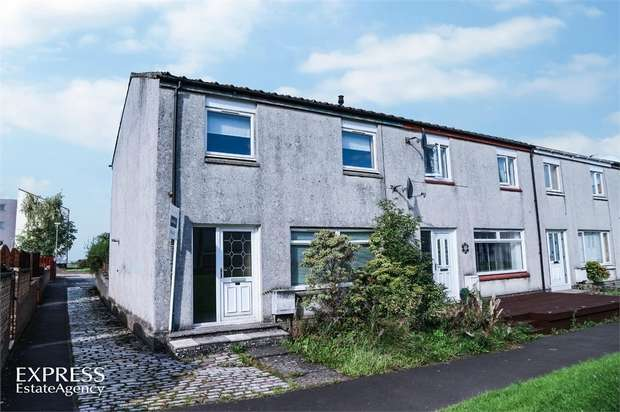 3 Bedrooms Terraced House for sale in Braidwood Place, Linwood, Paisley, Renfrewshire