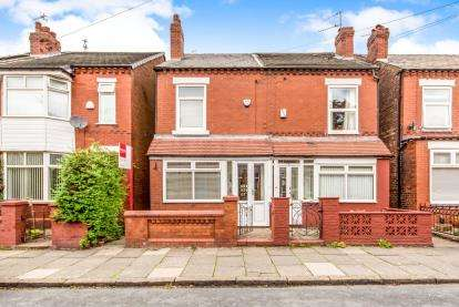 2 Bedrooms Semi Detached House for sale in Ainsdale Grove, Reddish, Stockport, Cheshire