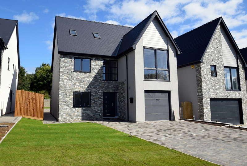 5 Bedrooms Detached House for sale in Plot 3, Waterton Lane, Waterton, Bridgend, Bridgend County Borough, CF31 3YW.