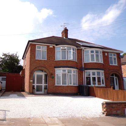 3 Bedrooms Semi Detached House for sale in Glenbourne Road, Wigston, Leicester, Leicestershire