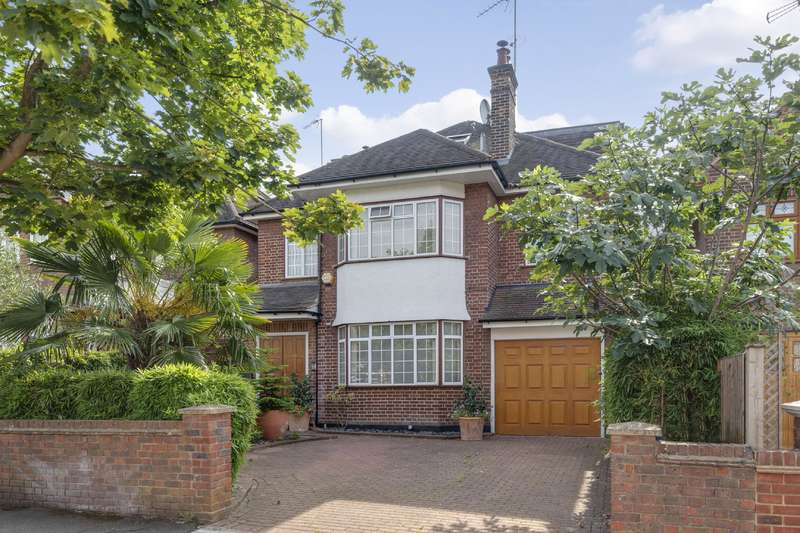 5 Bedrooms Detached House for sale in Bancroft Avenue, Hampstead Garden Suburb Borders