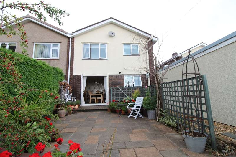 3 Bedrooms Semi Detached House for sale in Llanthewy Close, Croesyceiliog, Cwmbran, NP44