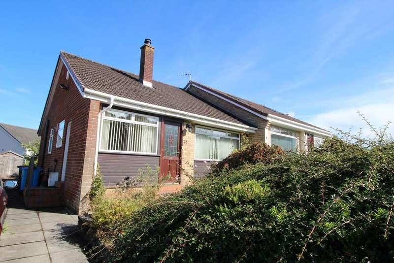 3 Bedrooms Semi Detached House for sale in 25 Eildon Drive, Barrhead, GLASGOW, G78 2EB