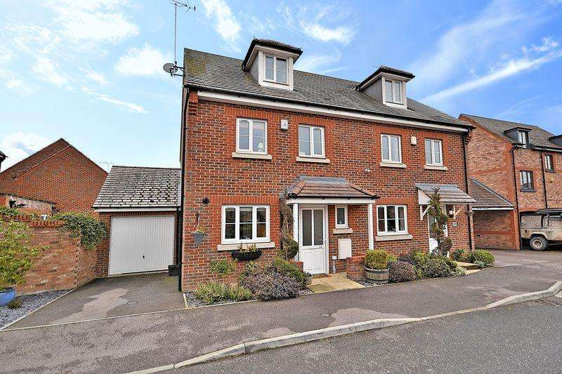 4 Bedrooms Semi Detached House for sale in Manor Avenue, Hockliffe