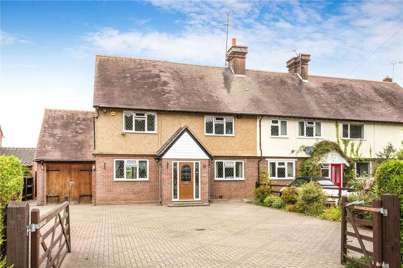 4 Bedrooms End Of Terrace House for sale in Berryfield Cottages, Aldbury, Tring, Hertfordshire, HP23