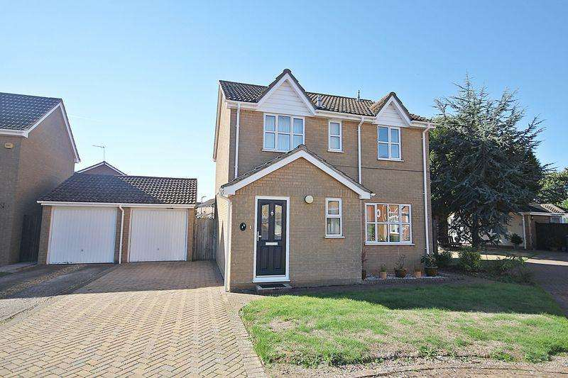 4 Bedrooms Detached House for sale in Truro Gardens, Flitwick