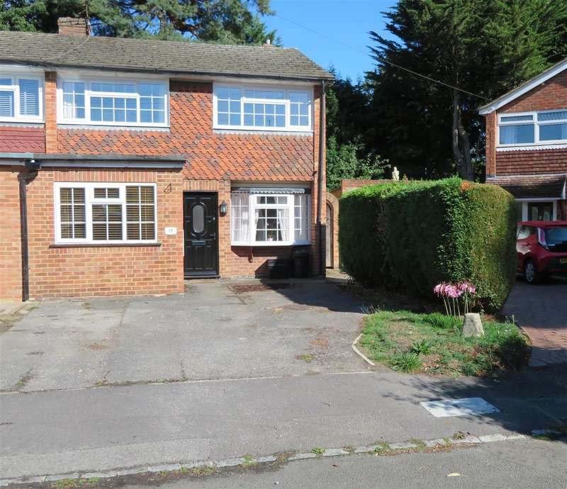 3 Bedrooms End Of Terrace House for sale in Westbury Close, Crowthorne