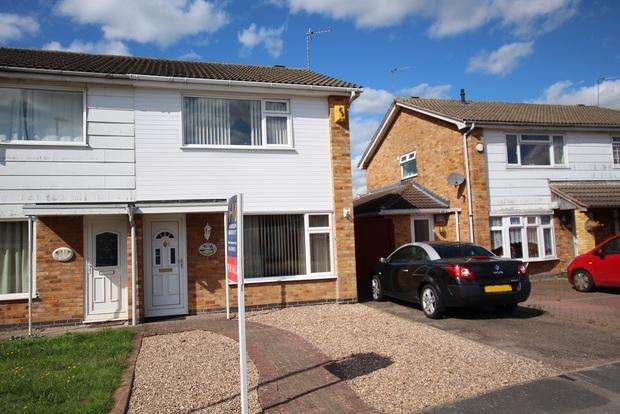 3 Bedrooms Semi Detached House for sale in Montague Avenue, Syston, LE7