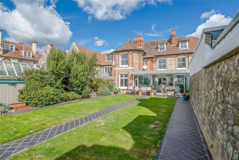 5 Bedrooms Semi Detached House for sale in Castle Road, Sandgate, Folkestone, Kent