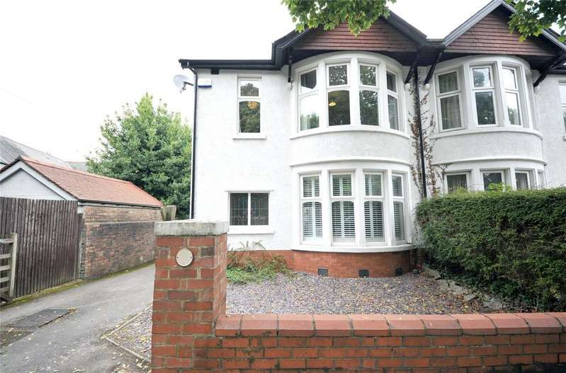 4 Bedrooms Semi Detached House for sale in Lake Road North, Roath Park, Cardiff, CF23