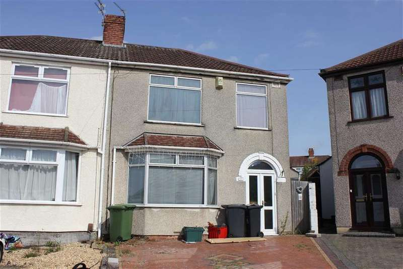 3 Bedrooms Semi Detached House for sale in Ventnor Avenue, St George, Bristol