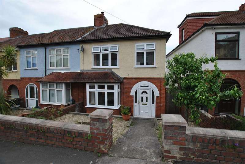 3 Bedrooms End Of Terrace House for sale in Tyning Road, Knowle, Bristol