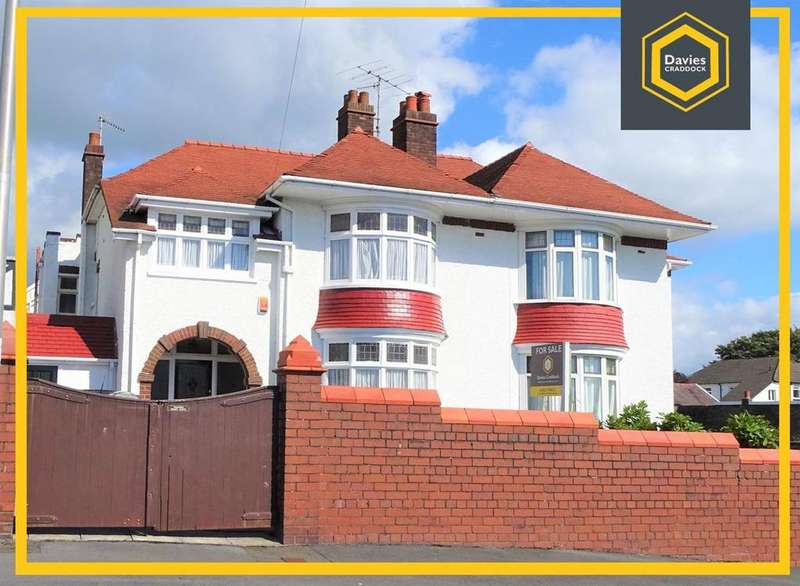 4 Bedrooms Semi Detached House for sale in 4 Spowart Avenue, Llanelli, SA15