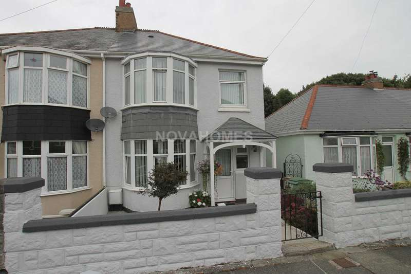 3 Bedrooms Semi Detached House for sale in Waverley Road, Higher St Budeaux, PL5 1SH