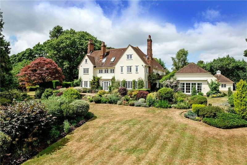 6 Bedrooms Detached House for sale in Church Hill, Shamley Green, Guildford, Surrey, GU5
