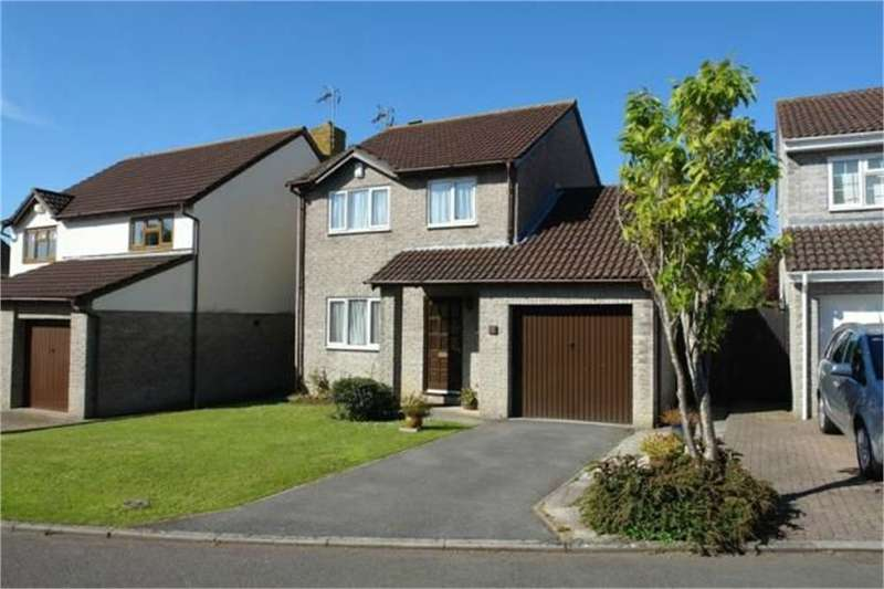 3 Bedrooms Detached House for sale in Glastonbury Close, Nailsea, Bristol, North Somerset
