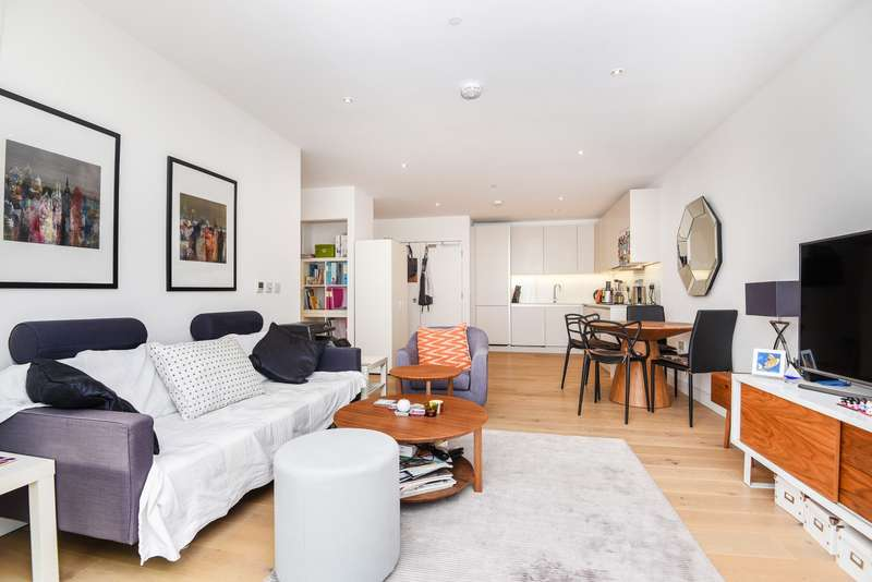 1 Bedroom Penthouse Flat for sale in Cobalt Place, Battersea, SW11